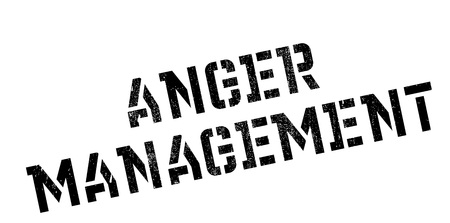 health threat: Anger Management rubber stamp. Grunge design with dust scratches. Effects can be easily removed for a clean, crisp look. Color is easily changed.
