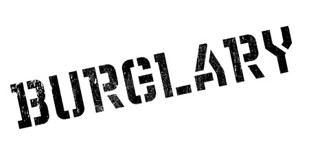 heist: Burglary rubber stamp. Grunge design with dust scratches. Effects can be easily removed for a clean, crisp look. Color is easily changed.