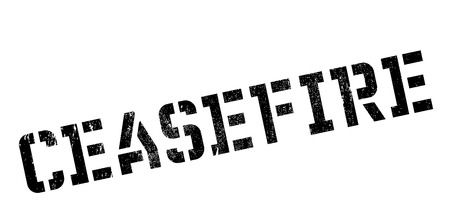 ceased: Ceasefire rubber stamp. Grunge design with dust scratches. Effects can be easily removed for a clean, crisp look. Color is easily changed.