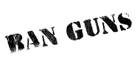 lethal: Ban Guns rubber stamp. Grunge design with dust scratches. Effects can be easily removed for a clean, crisp look. Color is easily changed.