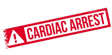 Cardiac Arrest: Cardiac Arrest rubber stamp. Grunge design with dust scratches. Effects can be easily removed for a clean, crisp look. Color is easily changed.
