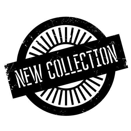 Nuevo sello de colección. Diseño de Grunge con los rasguños polvo. Los efectos se pueden quitar fácilmente para una apariencia limpia y nítida. En color se cambia fácilmente.