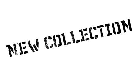 Nuevo sello de colección. Diseño de Grunge con los rasguños polvo. Los efectos se pueden quitar fácilmente para una apariencia limpia y nítida. En color se cambia fácilmente. Ilustración de vector