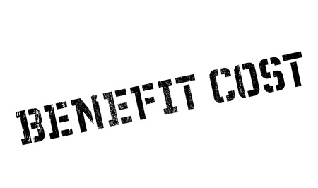 avail: Benefit cost stamp. Grunge design with dust scratches. Effects can be easily removed for a clean, crisp look. Color is easily changed.