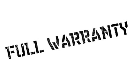 covenant: Full Warranty rubber stamp. Grunge design with dust scratches. Effects can be easily removed for a clean, crisp look. Color is easily changed.
