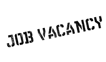 daily grind: Job vacancy stamp. Grunge design with dust scratches. Effects can be easily removed for a clean, crisp look. Color is easily changed. Illustration