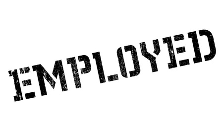 re employment: Employed rubber stamp