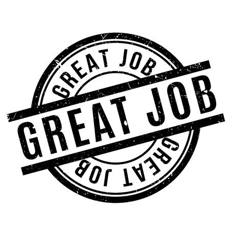 Great Job rubberzegel