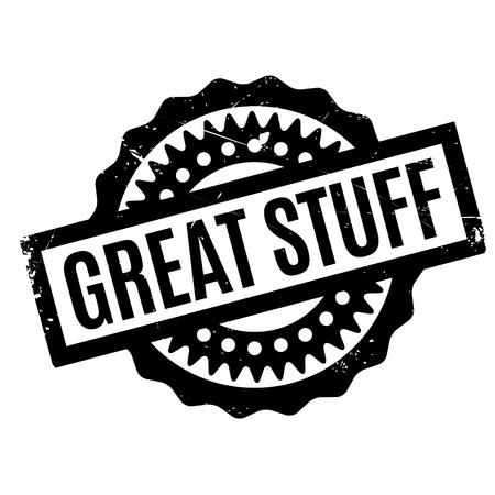 stuff: Great Stuff rubber stamp