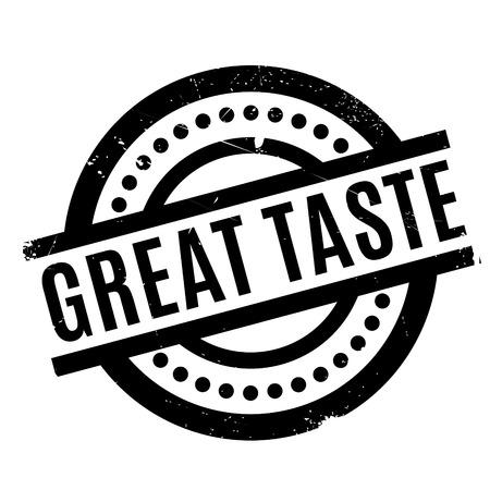 wallop: Great Taste rubber stamp Illustration