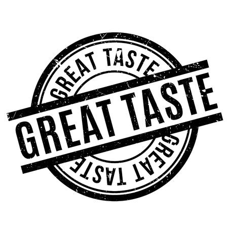 Great Taste rubber stamp Illustration