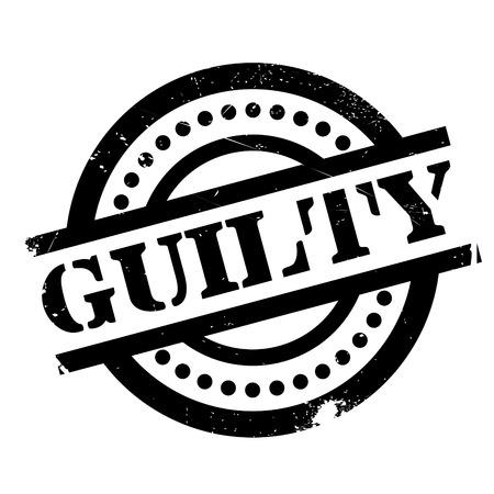 guilty: Guilty rubber stamp