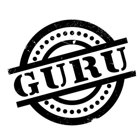 Guru rubber stamp