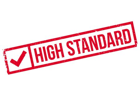 High Standard rubber stamp