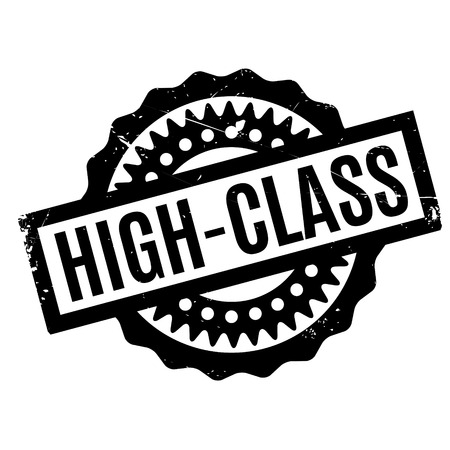 High-Class rubber stamp Illustration