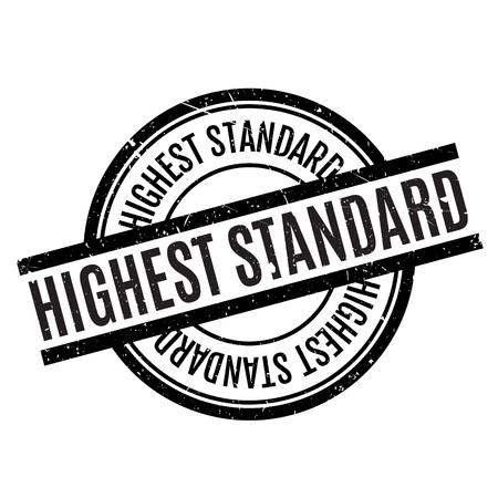 extravagant: Highest Standard rubber stamp Illustration
