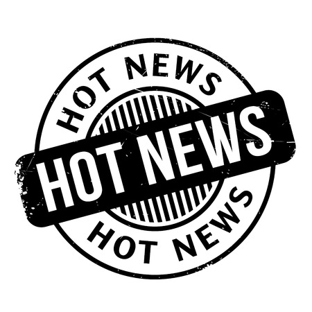 miscellaneous goods: Hot News rubber stamp