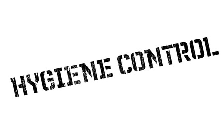 superintendence: Hygiene Control rubber stamp