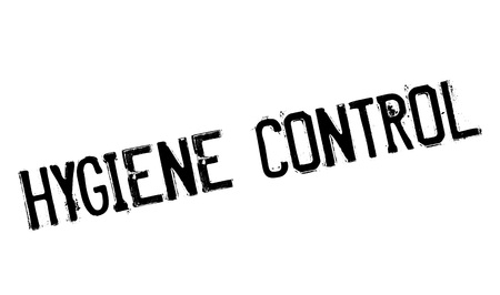 overlook: Hygiene Control rubber stamp