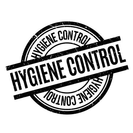 Hygiene Control rubber stamp