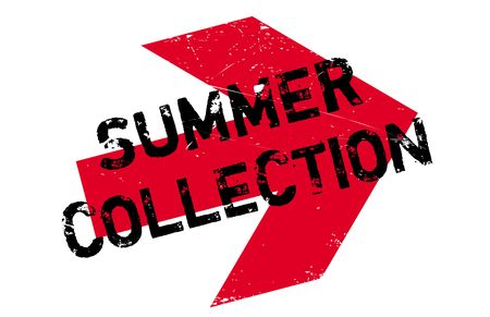 summer solstice: Summer collection stamp. Grunge design with dust scratches. Effects can be easily removed for a clean, crisp look. Color is easily changed.