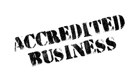 authoritative: Accredited Business rubber stamp