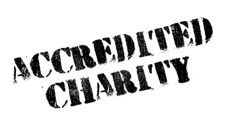 largesse: Accredited Charity rubber stamp