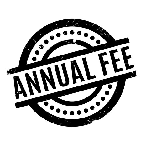 emolument: Annual Fee rubber stamp