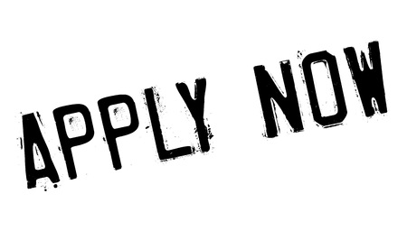 execute: Apply Now rubber stamp Illustration