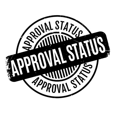 commendation: Approval Status rubberstamp Illustration