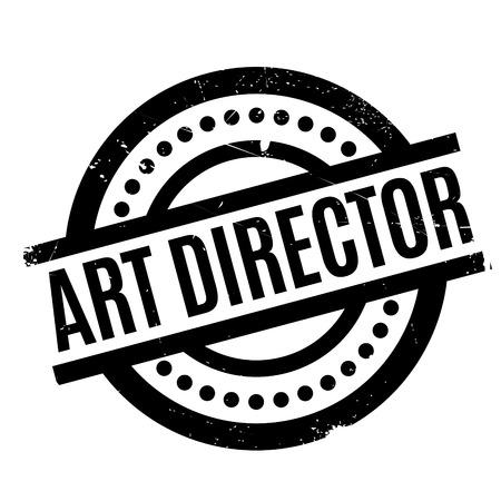 Art Director rubber stamp