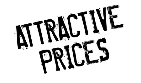 alluring: Attractive Prices rubber stamp