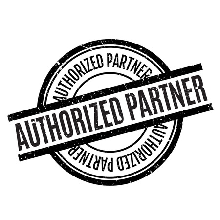 recognized: Authorized Partner rubber stamp