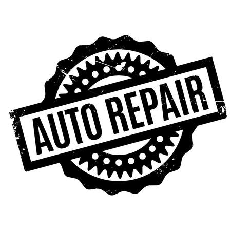 cobble: Auto Repair rubber stamp