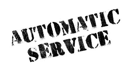 Automatic Service rubber stamp
