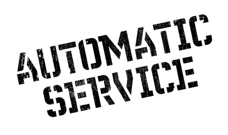 intuitive: Automatic Service rubber stamp