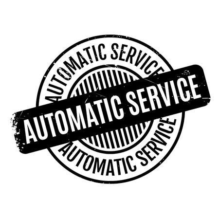 spontaneous: Automatic Service rubber stamp