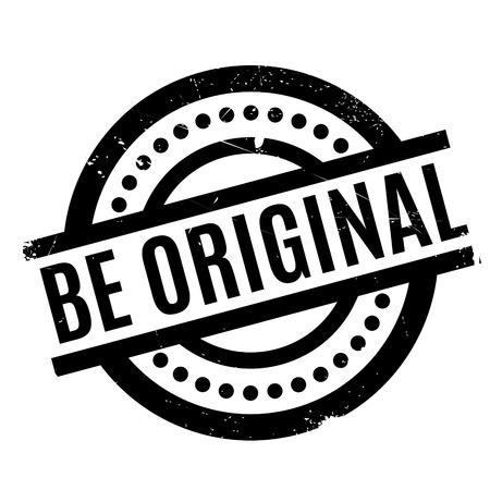 Be Original rubber stamp