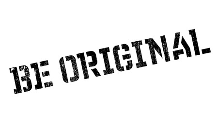 Be Original rubber stamp