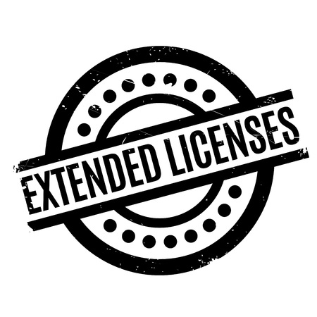 outspread: Extended Licenses rubber stamp