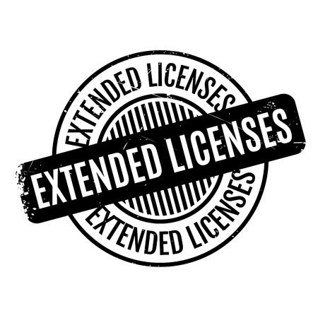 expansive: Extended Licenses rubber stamp