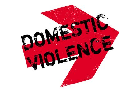 Domestic Violence stamp. Grunge design with dust scratches. Effects can be easily removed for a clean, crisp look. Color is easily changed. Illustration