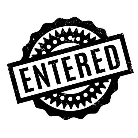 vestibule: Entered rubber stamp