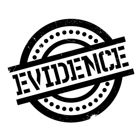 evidence: Evidence rubber stamp
