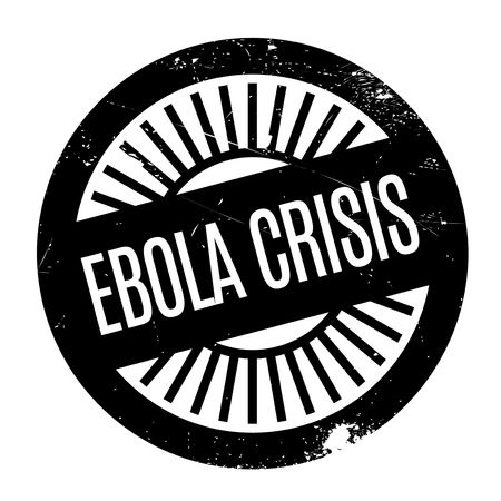 hemorrhagic: Ebola Crisis stamp. Grunge design with dust scratches. Effects can be easily removed for a clean, crisp look. Color is easily changed.
