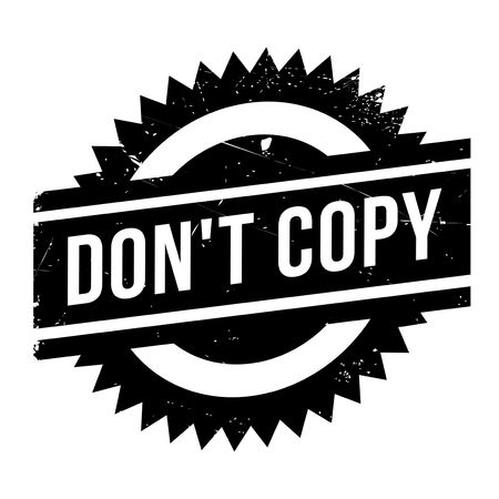 transcribe: Do not Copy stamp. Grunge design with dust scratches. Effects can be easily removed for a clean, crisp look. Color is easily changed.