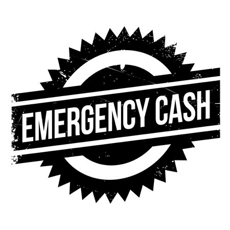 plight: Emergency Cash stamp. Grunge design with dust scratches. Effects can be easily removed for a clean, crisp look. Color is easily changed.