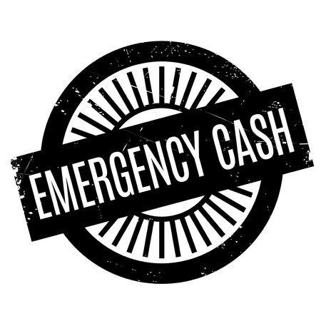 extremity: Emergency Cash stamp. Grunge design with dust scratches. Effects can be easily removed for a clean, crisp look. Color is easily changed.