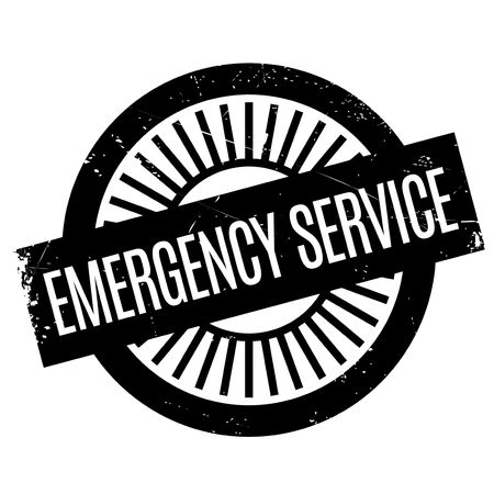 plight: Emergency Service stamp. Grunge design with dust scratches. Effects can be easily removed for a clean, crisp look. Color is easily changed.