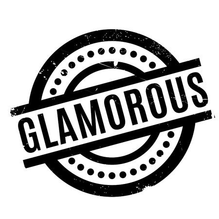 Glamorous rubber stamp Illustration